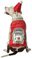 Ketchup Pet Costume
