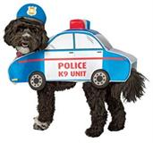 Dog Police Medium Costume