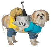 Dog Beer Keg Medium