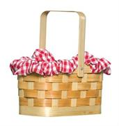 Purse Gingham Basket