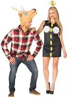 Deer In Headlights Couple Costume
