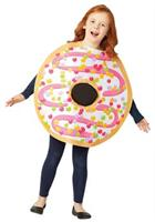 WHITE FROSTED DONUT COSTUME 7-10