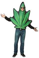 Men's Pot Leaf Costume