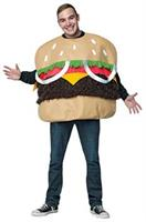 Men's Fur Burger Costume