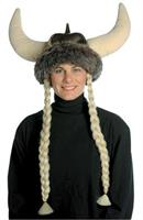 Space Viking Hat With Braids