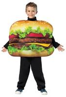 Unisex Cheeseburger Costume