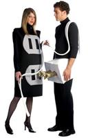 Adult Plug And Socket Set Costume