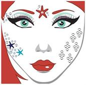 Face Decal Mermaid