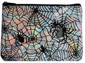 Makeup Bag Iridescent Spider