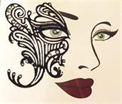 Face Decal Eye Lace