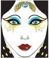 Face Decal Egyptian