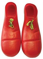 Red Clown Plastic Shoes