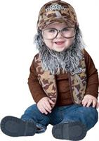 Infant Duck Dynasty Baby Uncle Si Costume