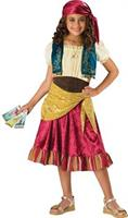 Girl's Gypsy Costume