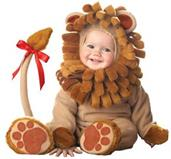 Lion Infant Costume