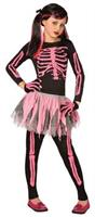 Girl's Skeleton Costume