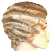 FINGERWAVE SHORT C BLONDE 22 WIG