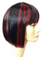 CHINA DOLL BARG BLACK RED