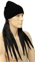 Dread Lock Hat Bargain Black Wig