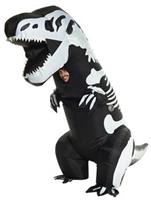 Skeleton T-Rex Inflatable Adult Costume