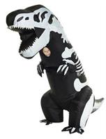 Skeleton T-Rex Inflatable Child Costume