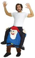 Gnome Piggyback Adult