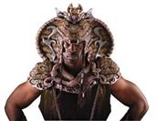 Serpent Lord Head Mask & Shoulder