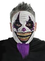 Adult Bearded Clown Mask