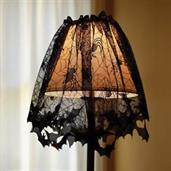 Bat Lace Lamp Shade Cover