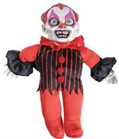Haunted Clown Doll Prop