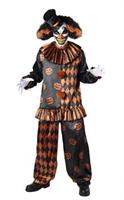 HALLOWEEN CLOWN ADULT ONE SIZE Costume