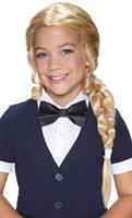 Child's Braided Pigtail Wig