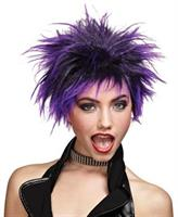 Purple Punk Rock Wig