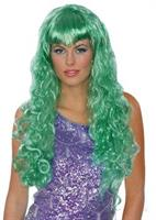 Green Mermaid Wig