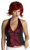 Red Pixie Wig