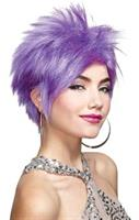 Purple Punk Rocker Wig