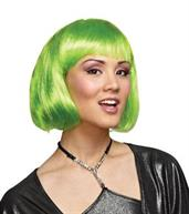 Neon Green Wig