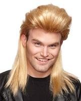 Blonde Nightclub Mullet Wig
