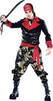 Men's Apocalypse Pirate Costume