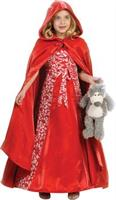 Girl's Princess Red Riding Costume