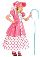 Girl's Bo Peep Costume
