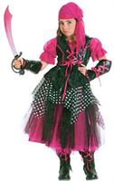 Girl's Caribbean Pirate Costume