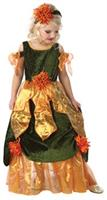 Girl's Maple Fall Princess Costume
