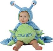 Crabby Toddler 18M/2T Costume
