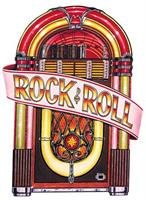 Jukebox Cutout Decoration