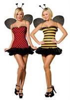 Women's Reversible Bug Costume