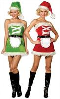 Santa Helper Elf Costume