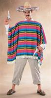 Men's Mexican Serape Costume