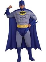 Men's Batman Deluxe Muscle Chest Costume