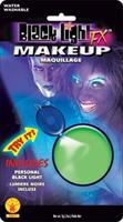 Green Black light Makeup